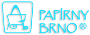 logo papirny brno